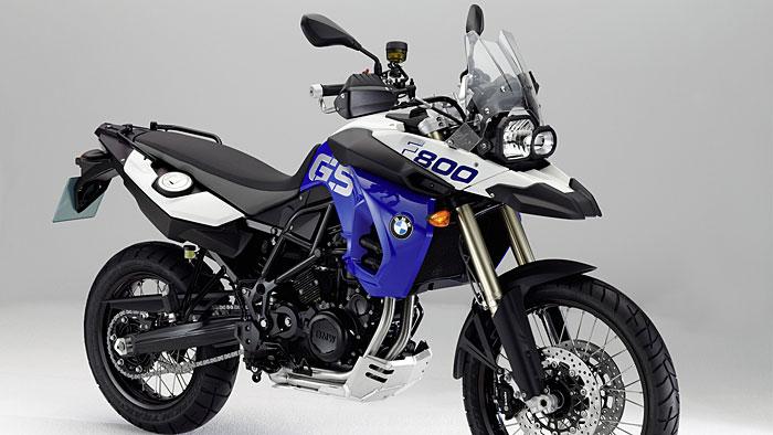 BMW-Motorräder in Heimatfarben