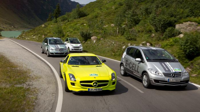 Daimler gibt Rekordergebnis bekannt