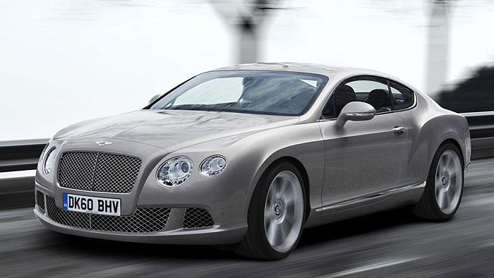 Bentley am kräftigsten unterwegs