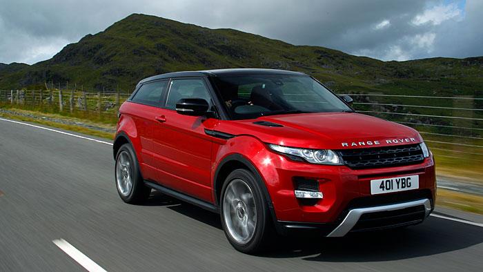 Range Rover Evoque: Nur mit Diesel