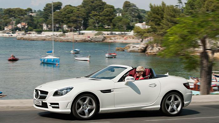 Dieselpremiere für den Mercedes SLK Roadster