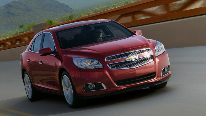 Chevrolet Malibu feiert auf IAA Europapremiere
