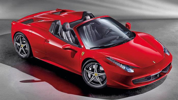 Ferrari 458 Italia kommt als Spider