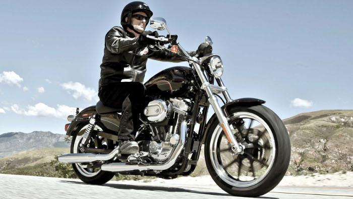 Harley Xl883l Superlow Agiles Einsteiger Bike Autogazettede