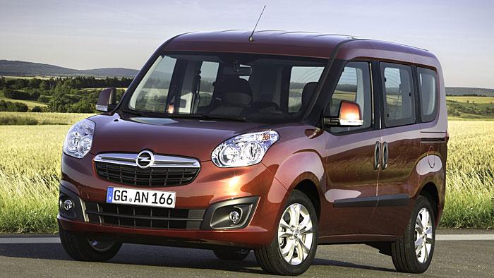 Opel startet Verkauf der neuen Combo-Generation