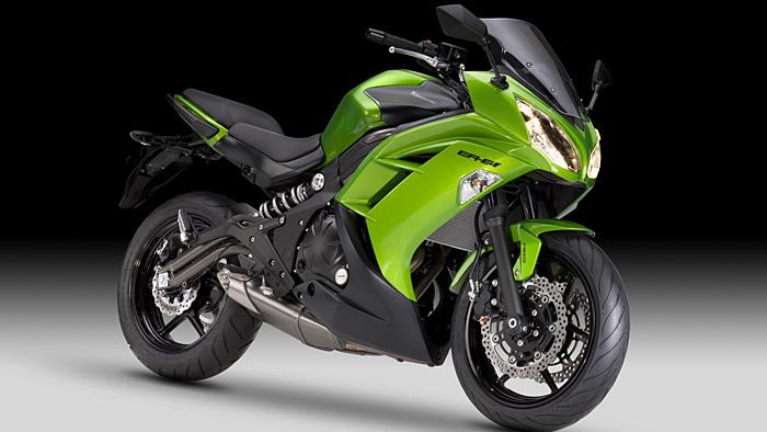 Kawasaki frischt Modelle für 2012 auf
