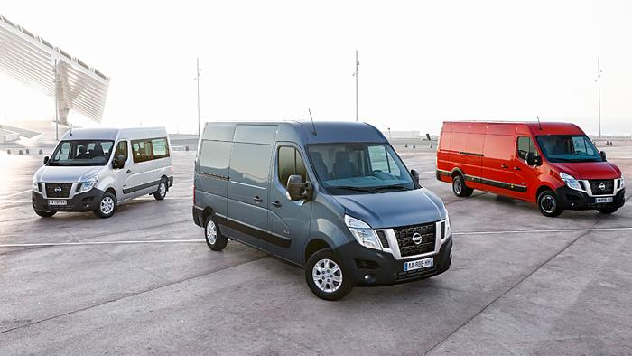 Nissan NV400: Wandelbares Nutzfahrzeug