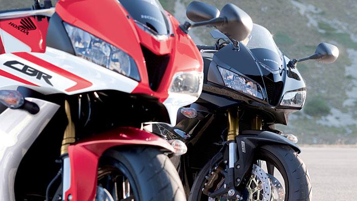 Honda CBR 600 RR erhält ABS serienmäßig