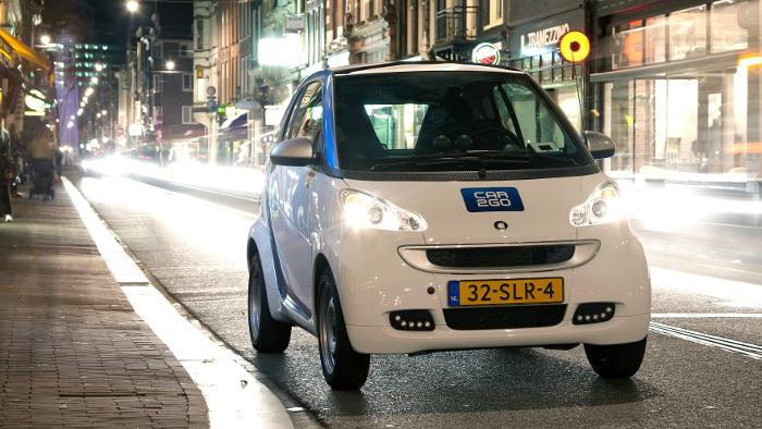 Car2Go: Elektro-Smarts für Amsterdam