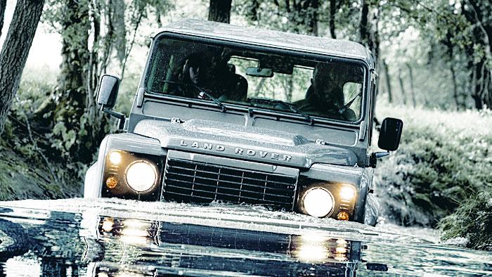 Neue Diesel für Land Rover