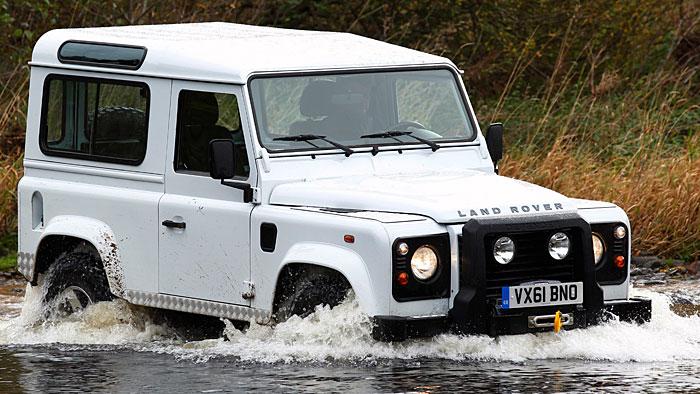 Land Rover Defender: OP kurz vor der Rente