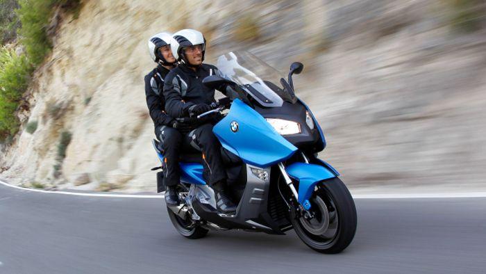 BMW Motorrad mit Absatzminus