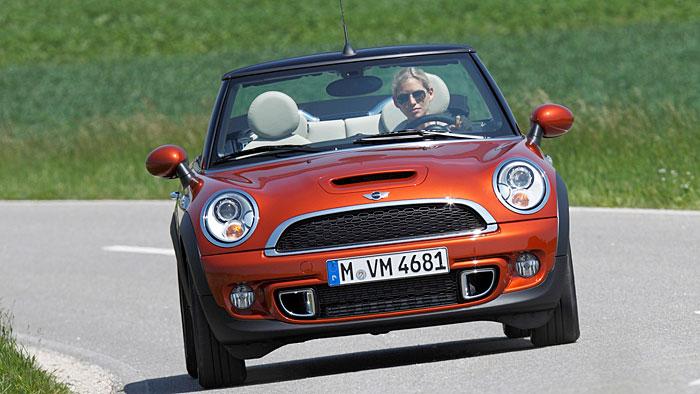 Mini Cooper Cabrio SD: Kraftvoll auf die Kurzstrecke