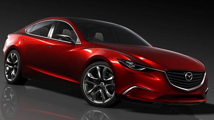 Mazda Takeri macht Appetit auf neuen Mazda6