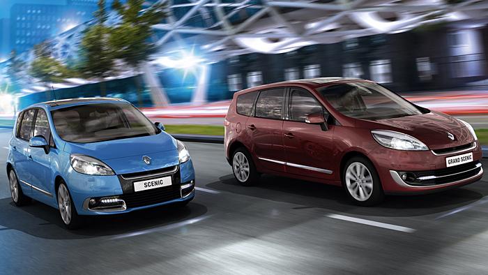 Renault-Vans Scenic und Grand Scenic werden sparsamer