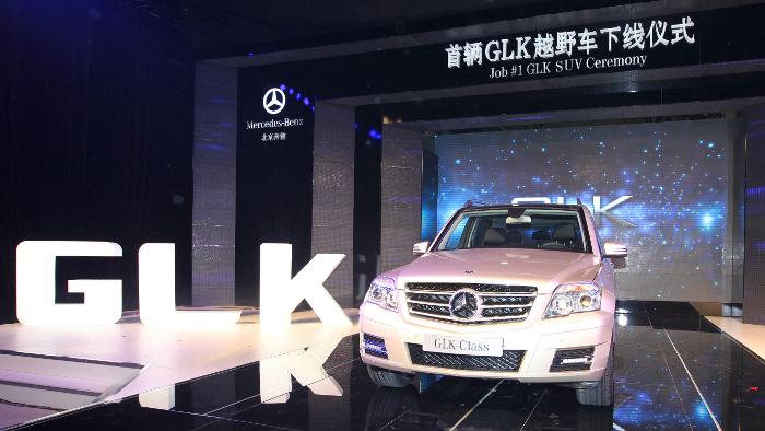 Mercedes GLK wird in China produziert