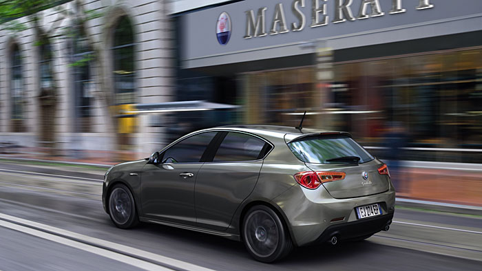 Luxuriöser Alfa Romeo Giulietta ersetzt Maserati