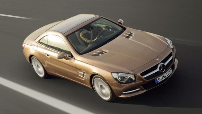 Mercedes SL Roadster: Leichtigkeit des Seins