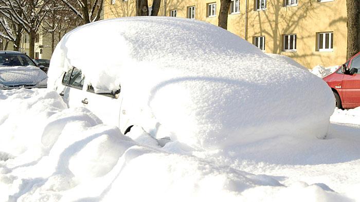 Intelligent im Schnee parken