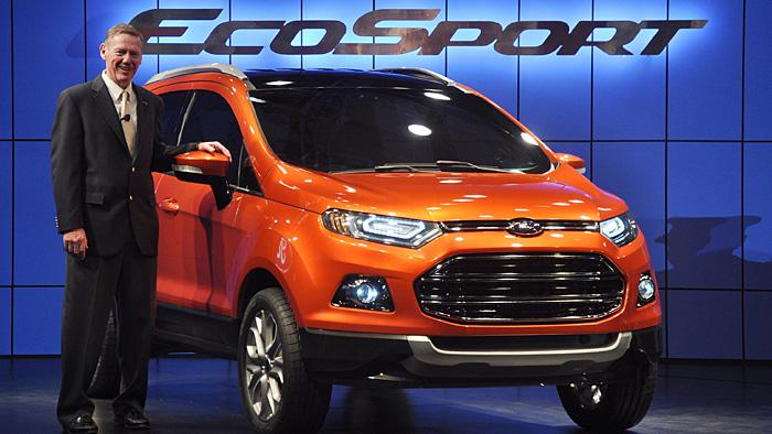 Ford EcoSport: Sparsam ins Gelände