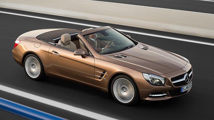 Mercedes-Benz SL: Dank Alu SuperLeicht