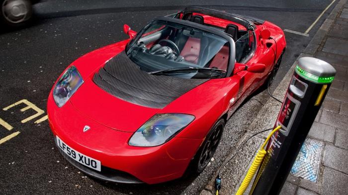 Finale Auflage vom Tesla Roadster