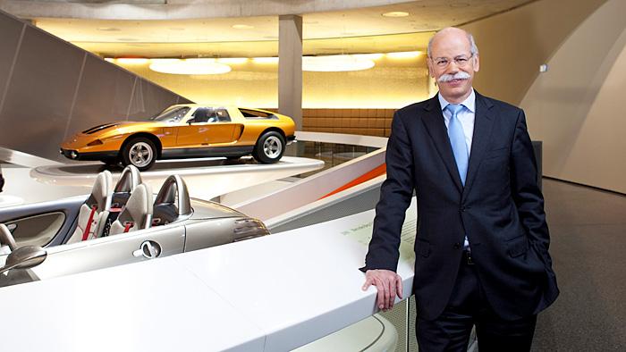 «Gelber Engel» für Daimler-Chef Dieter Zetsche