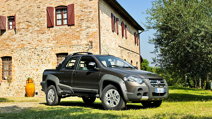 Auffrischung für den Fiat Strada