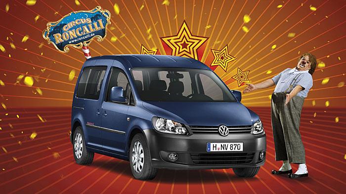 VW legt Caddy Roncalli neu auf