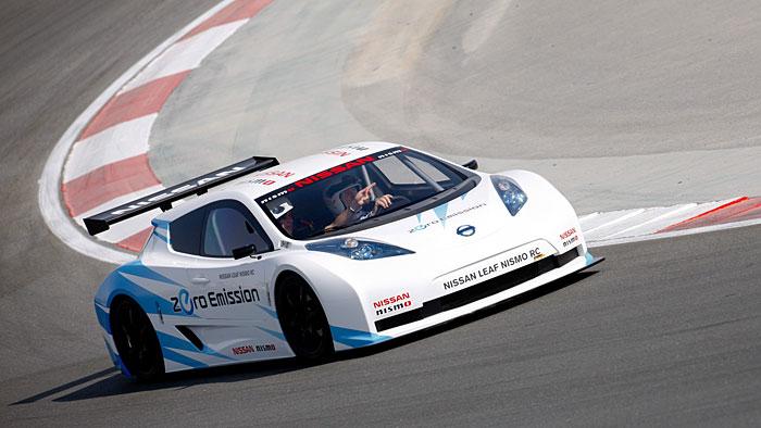 Nissan Leaf RC: Von der Serie auf die Rennstrecke