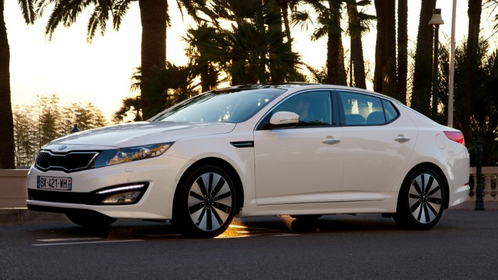 Kia Optima: Limousine jetzt, Kombi später