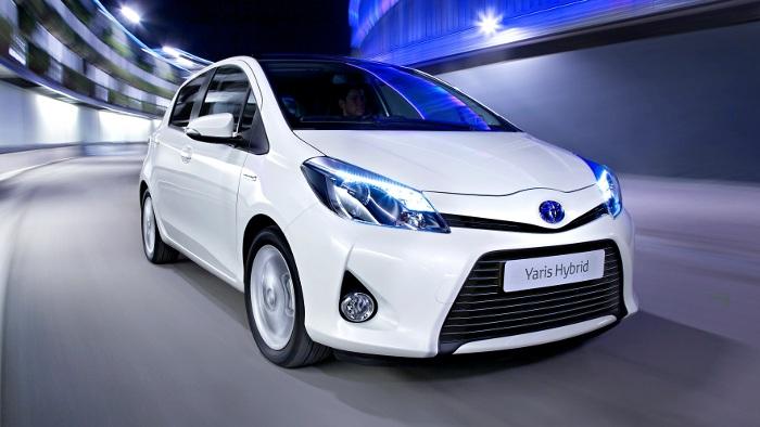 Toyota Yaris erhält Hybridantrieb