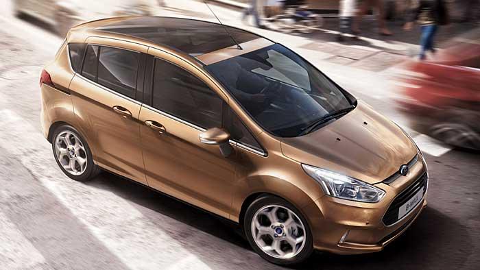 Ford B-Max feiert doppelte Premiere