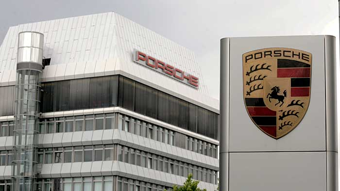 Starke Umsatzsteigerung von Porsche