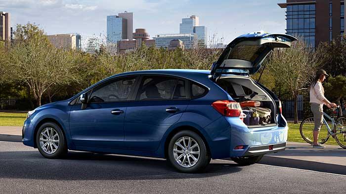 Subaru Impreza macht auf elegant
