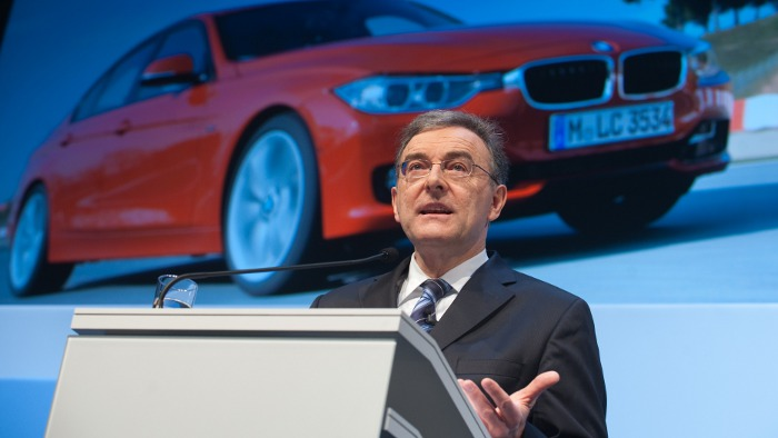 BMW hält an Zielen für Gesamtjahr fest