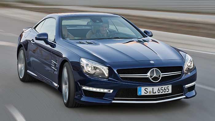 Mercedes SL AMG: Genuss auf höchstem Niveau
