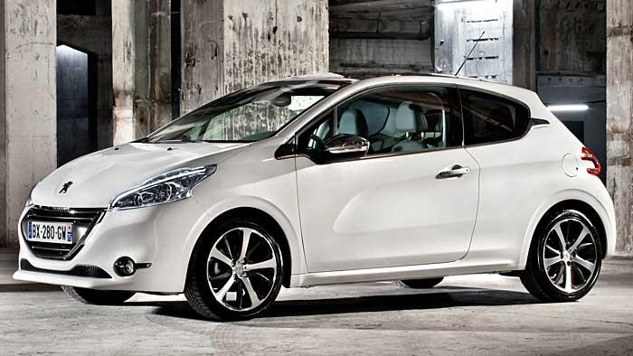 Peugeot 208 als Weihnachtsschnäppchen