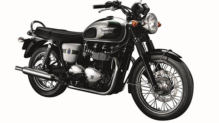 Triumph feiert Jubiläum mit Bonneville T100