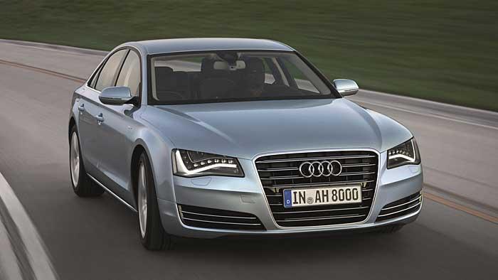 Audi A8 Hybrid: Sparsames Flaggschiff