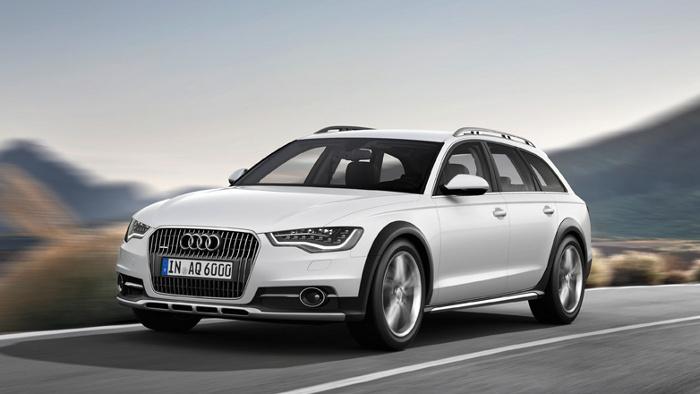 Audi A6 Allroad – immer mit Wagenheber