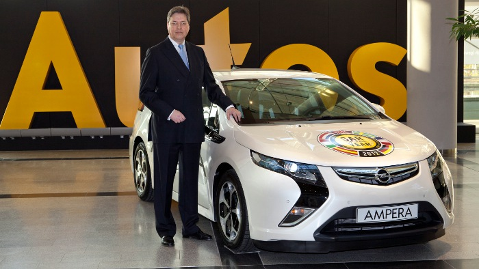 Alfred Rieck ist neuer Vertriebsvorstand bei Opel.