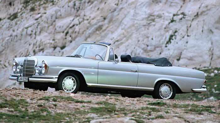 Mercedes Benz 280 SE Cabrio