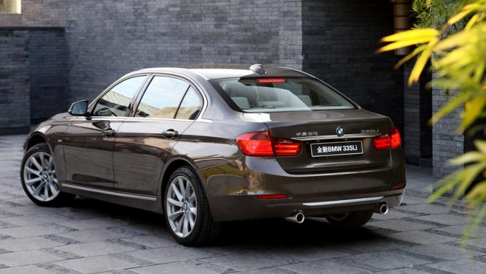 Die Langversion des 3er BMW ist in China sehr beliebt