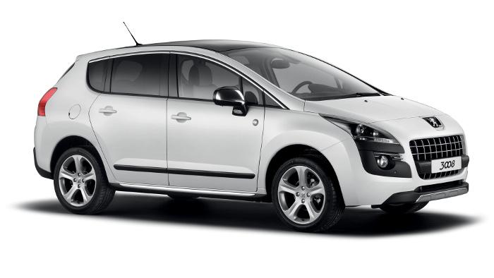 Sondermodell vom Peugeot 3008