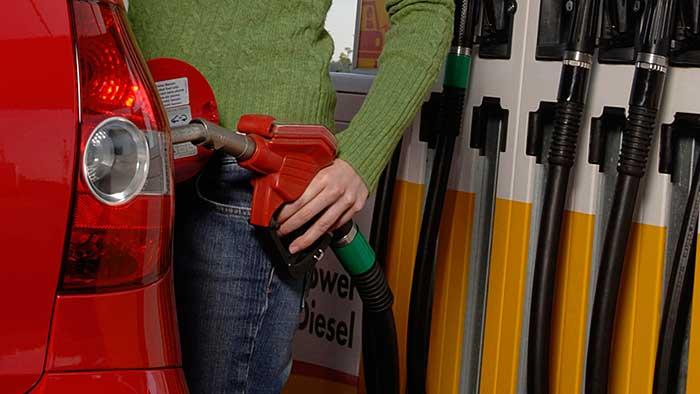 Die Kraftstoffpreise purzeln weiter