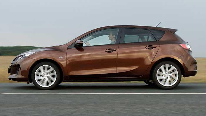 Der Mazda 3 wurde 2011 facegeliftet