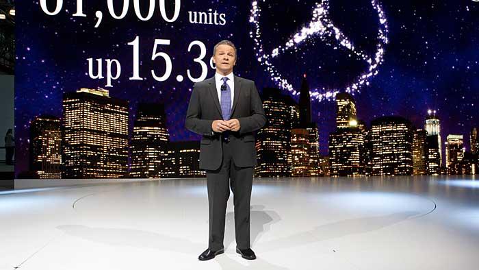 Stephen Cannon, Chef von Mercedes-Benz Amerika