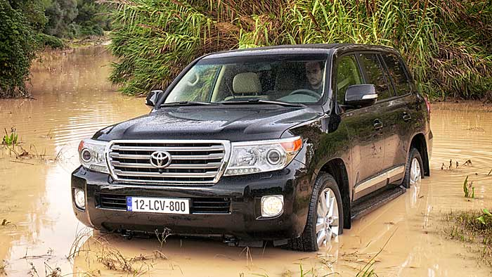 Mehr Leistung für den Toyota Land Cruiser V8
