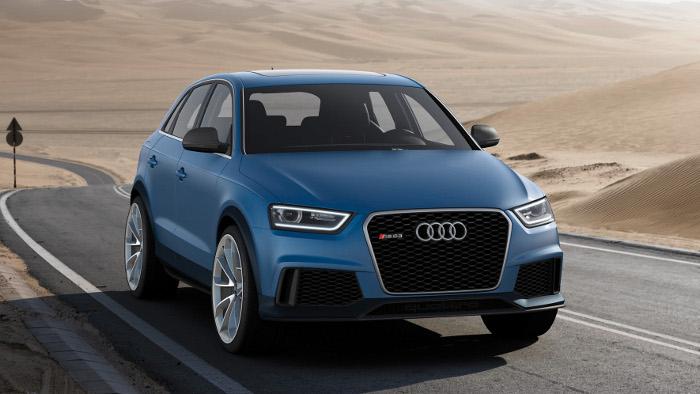 Audi präsentiert Konzeptfahrzeug RS Q3